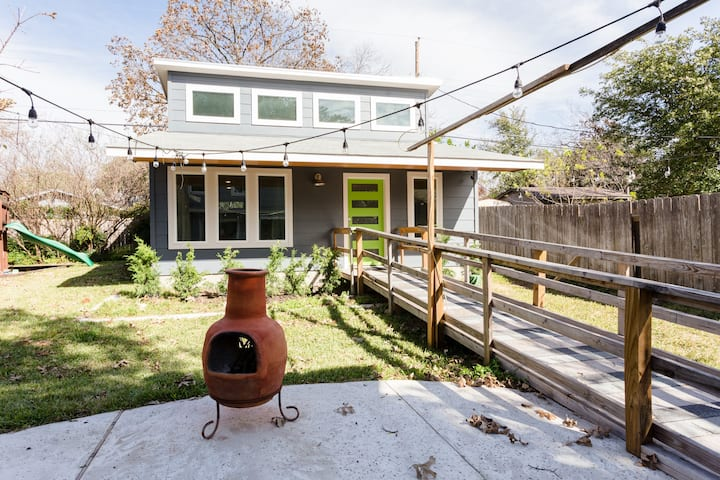 Not-So-Tiny House in N. Central Austin
