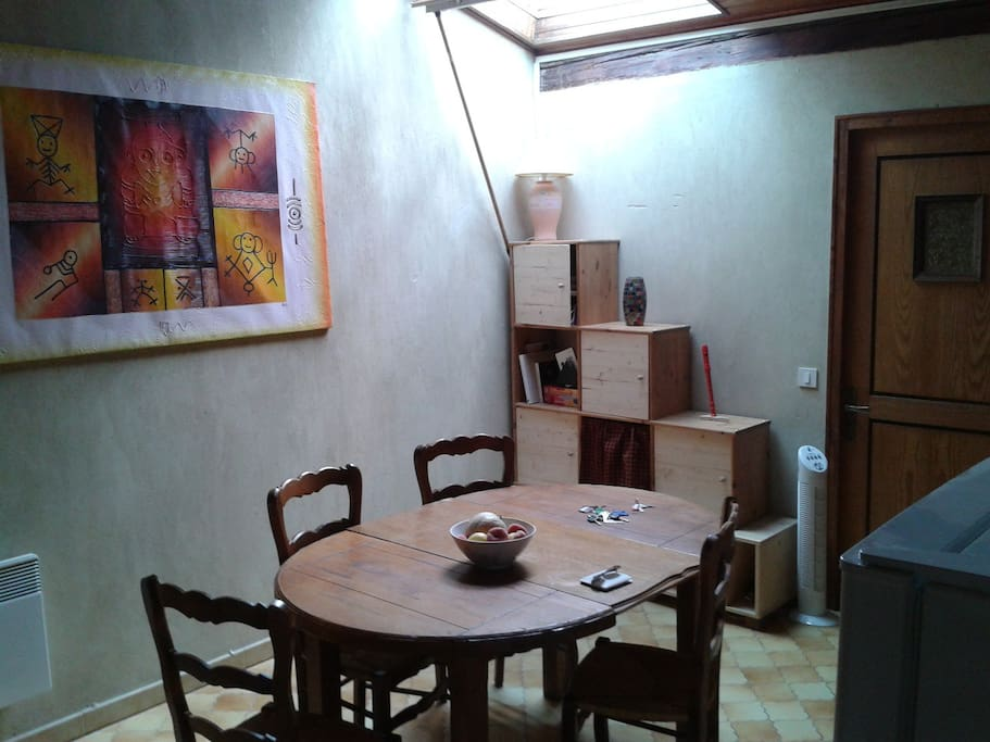 espace salle à manger spacieux