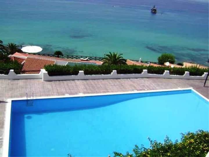 Monolocali sul mare a Tropea/Parghelia con piscina