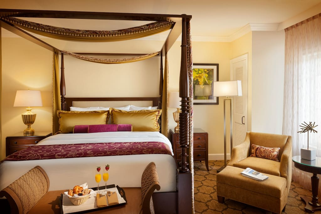 Unwind in the sumptuous king-sized bed and enjoy a good night's sleep