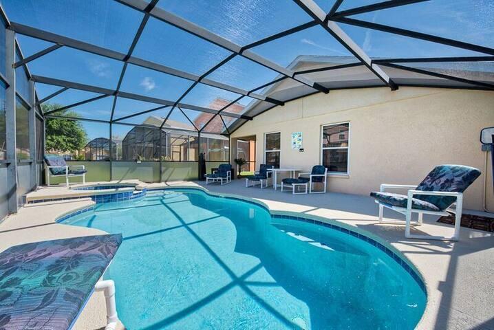 Private Heated Pool & Spa 2018