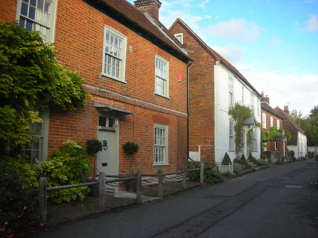 Large historic house near Winchester