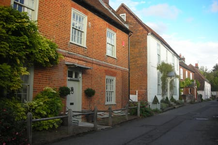 Large historic house near Winchester - Twyford - Hus