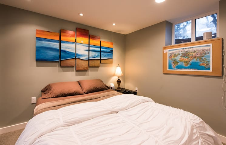 Modern, Cozy suite--quiet abode w/in minutes of DC - Cheverly - House