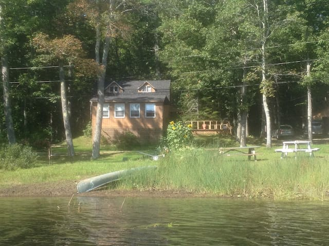 The Loons Nest Lakehouse - Lincolnville - Haus