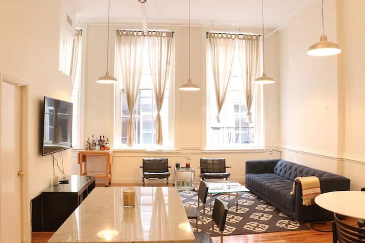 Chic Two Bedroom Soho Loft