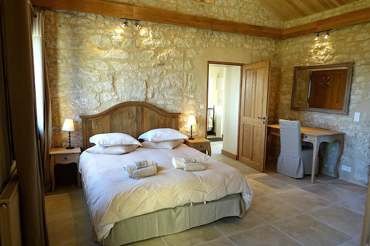 The Wine Cottage at Chateau Feely bedroom
