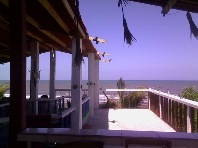 6 bed privat dorm on ocean Estero Beach LA TORTUGA