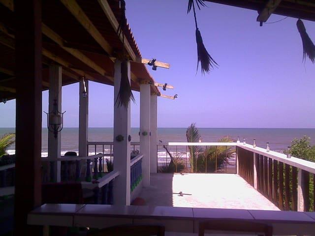 6 bed privat dorm on ocean Estero Beach LA TORTUGA