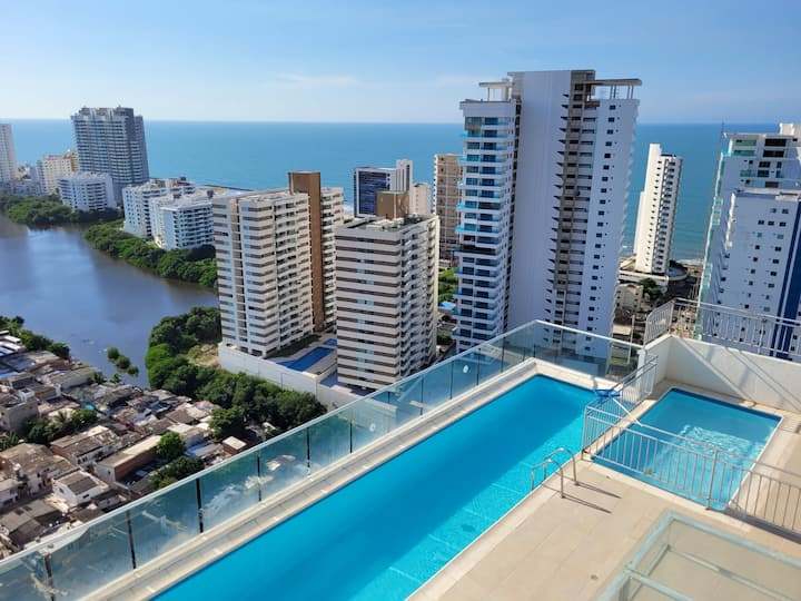 Cartagena Gem- Luxurious Brand New Apartment!