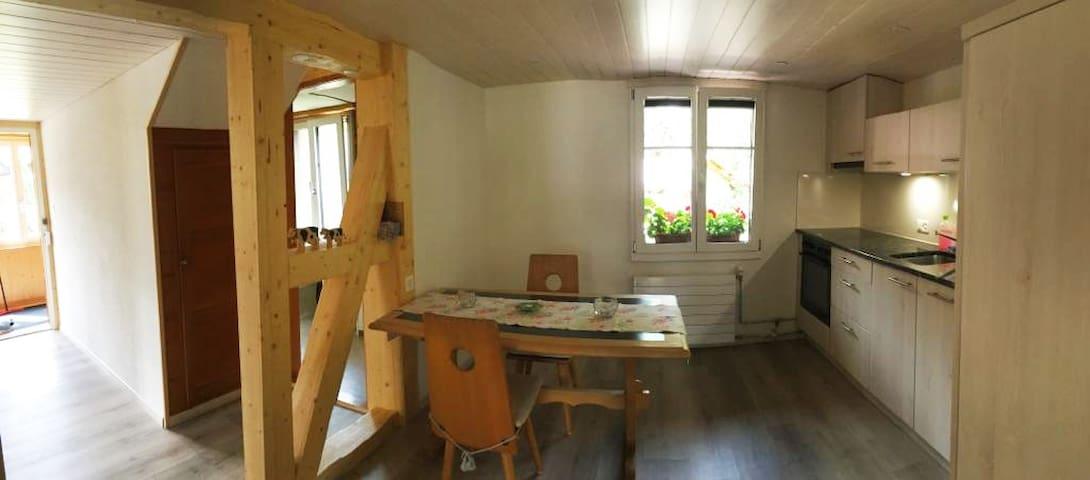 Chalet Helvetia in Mürren -2.5 room apartment!