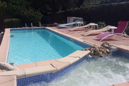 gites avec piscine - Le Thoronet - Naturstuga