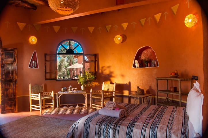 African huts with private terrace - Ouarzazate - Bed & Breakfast