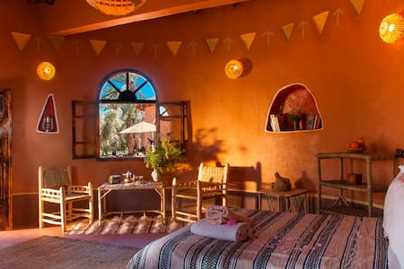 African huts with private terrace - Ouarzazate - Inap sarapan