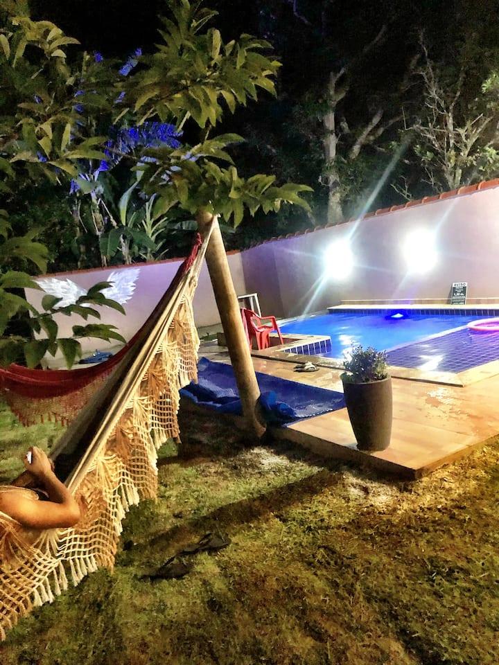 Casa com piscina aquecida a 700 m centro histórico