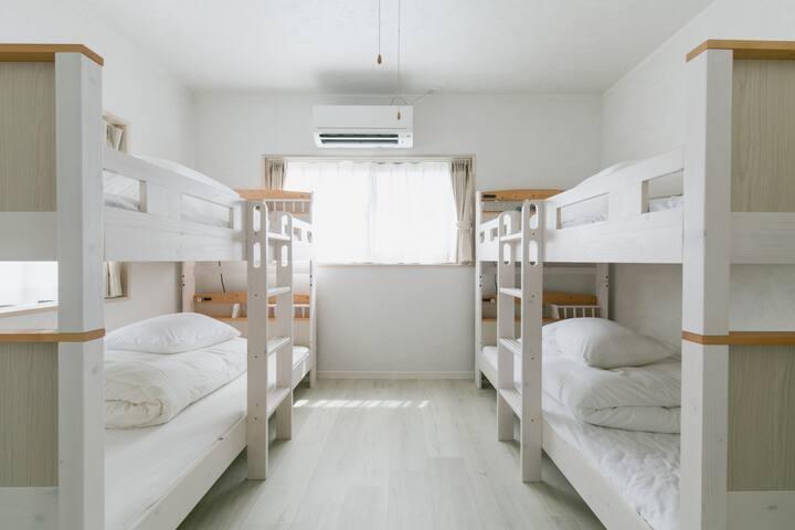 2段ベッド×2  Bunk bed×2