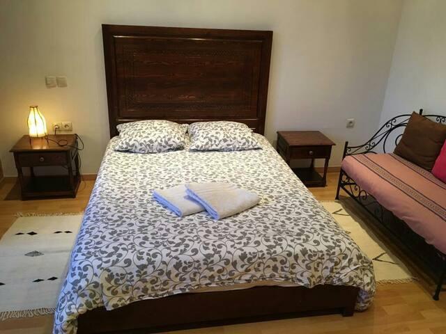 Logement 1 chambre, terrasses, idéalement placé