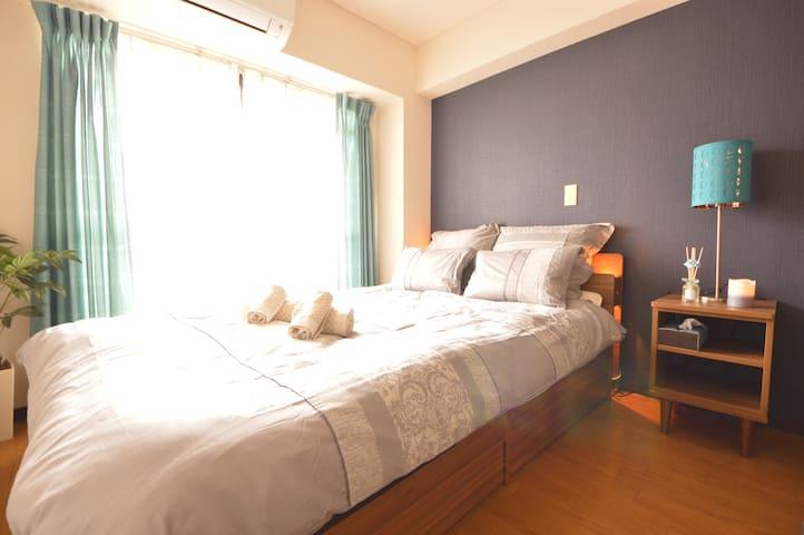 New open 5Mins Shin-Osaka Modern Clean! - Yodogawa-ku Osaka-shi - Lägenhet