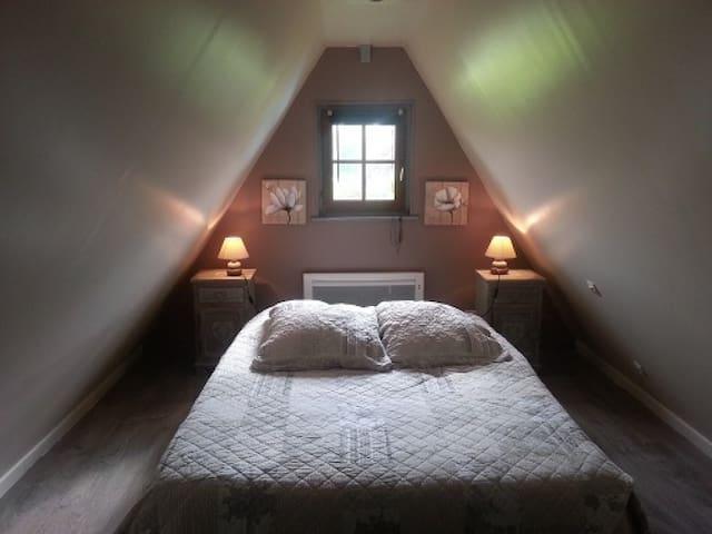Chambre d'hôtes 2 à 3 personnes proche Honfleur - Fatouville-Grestain