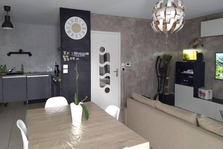 Private room - nice apartment in Blagnac