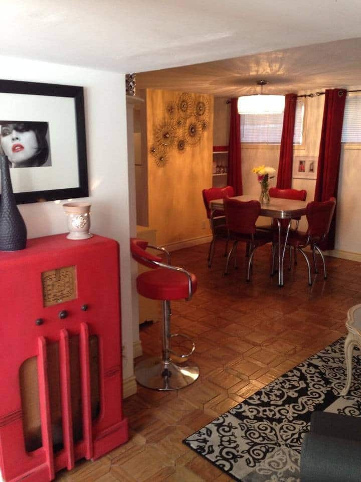 1 Bedroom Furnished & Equipped Basement Suite