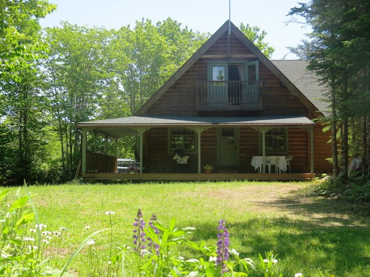 Log Home, Perfect for Romantic Breaks