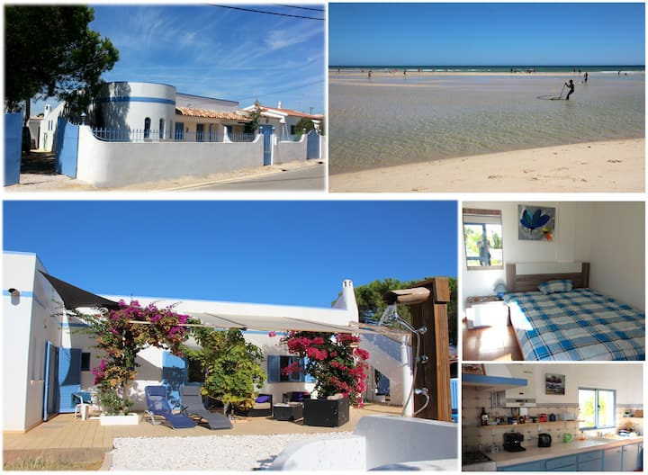 Large house, close to beaches, in nature reserve!