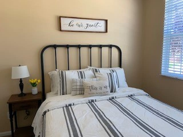 Farmhouse guest room