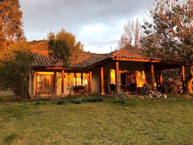 Casa principal de Viña Casa Sur Pomaire