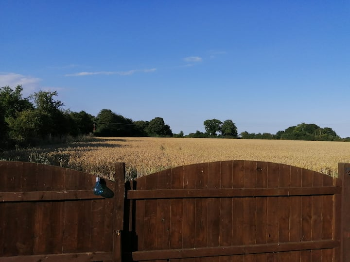 Quintessential broadland country setting