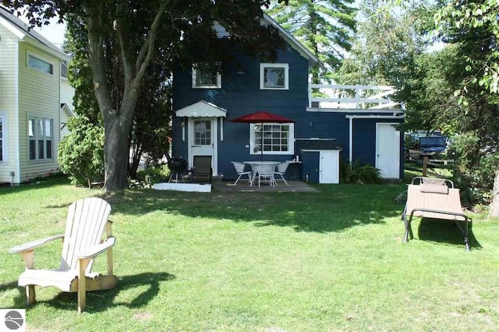 Cabin--Torch River, MI: Sleeps 4, Private Dock, Paddle Board/Boat/Kayak included