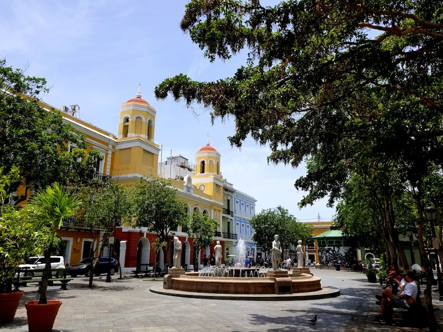 WELCOMING STAY in the center of OLD SAN JUAN