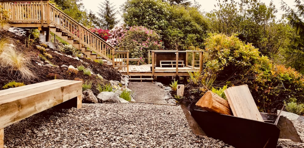 Ocean Front Ucluelet Private Guest Suite 3