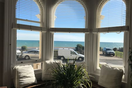 Stunning Seafront Victorian entire 1 bedroom flat