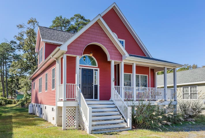 Ariel's Grotto is a 3 bedroom 2 bathroom Chincoteague Island Dream Vacation Home!