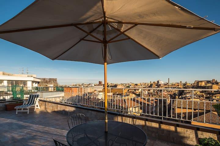 San Felice Rooftop, a due passi da Piazza Maggiore