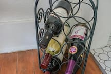 Enjoy our selection of California wine - please leave $10 on the table for each bottle you use.