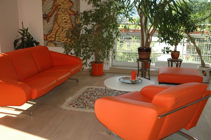 Orange Apartment