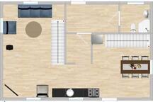 Main floor 55m2