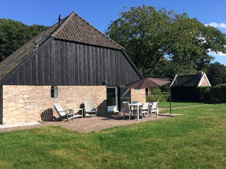 Landelijk gelegen vakantiehuis op de Veluwe