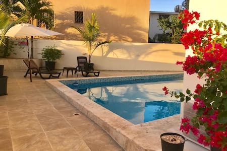 Spacious condo in Boca Chica steps from the beach