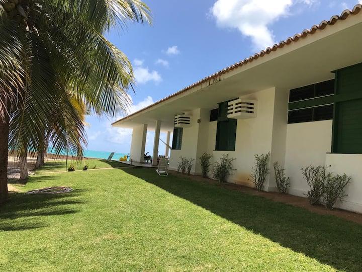 Excelente casa à beira mar Barra Grande/Maragogi