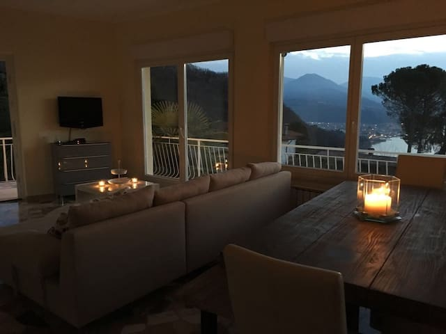 Modern Casa at the Lago Maggiore - Gaggio - Apartmen