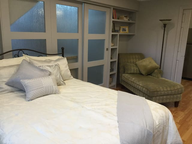 Charming suite located just off the Parkway.