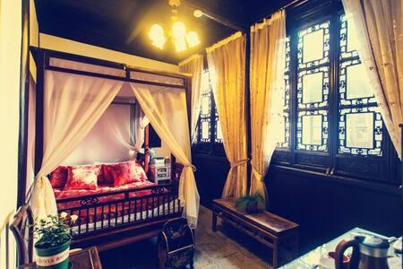 西厢记雕花大床房:苏州同里古镇中心百年老宅+花园庭院+古董家具 - Suzhou