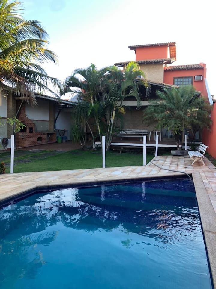 Casa luxo Peracanga - Enseada Azul, Guarapari - ES