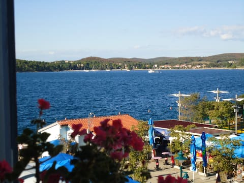 Sea view apartment Xenia in Rovinj - open sea view, town centre, 30 meters from the sea! New in 2016!