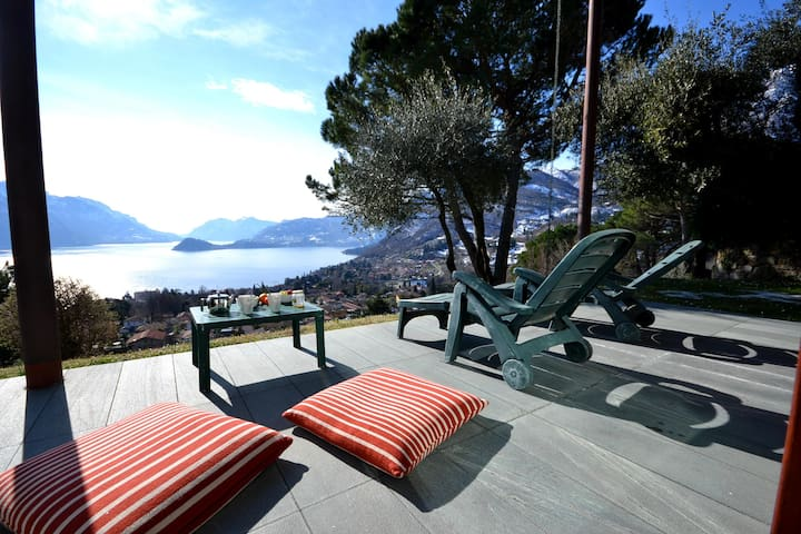 VILLA BELLAVISTA with amazing views - Provincia di Como - Huis
