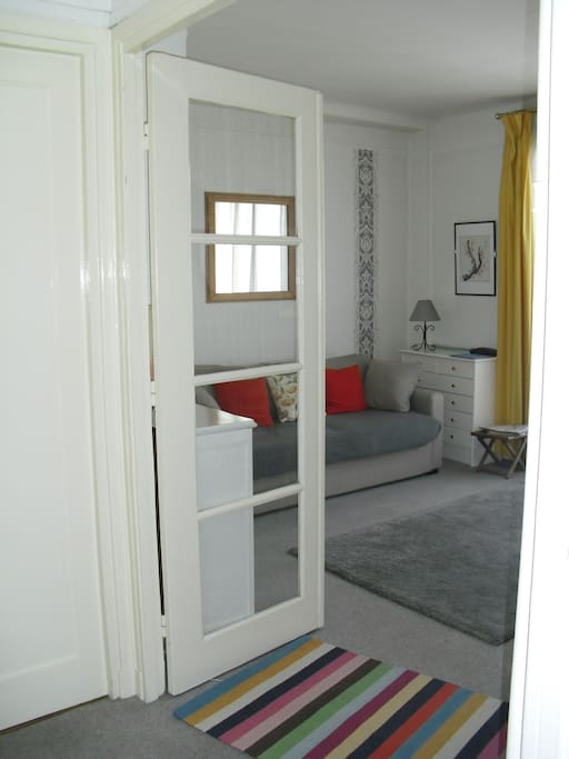 Living-room, view from entry