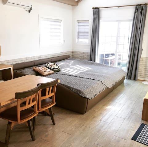 채송화방_4인용 Room no.1 for 4 people